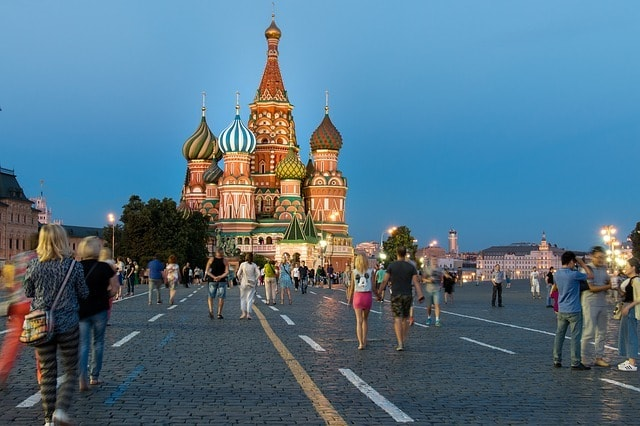 LAX > Moscow, Russia: $516 round-trip – Sep-Nov (Including Fall Break)