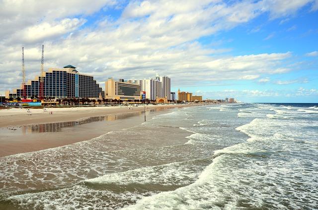 EWR > Daytona Beach, Florida: $143 round-trip- Aug-Oct