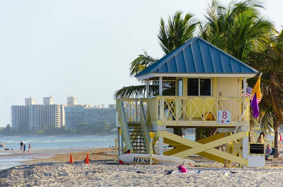DEN > Miami, Florida: $87 round-trip- Aug-Oct