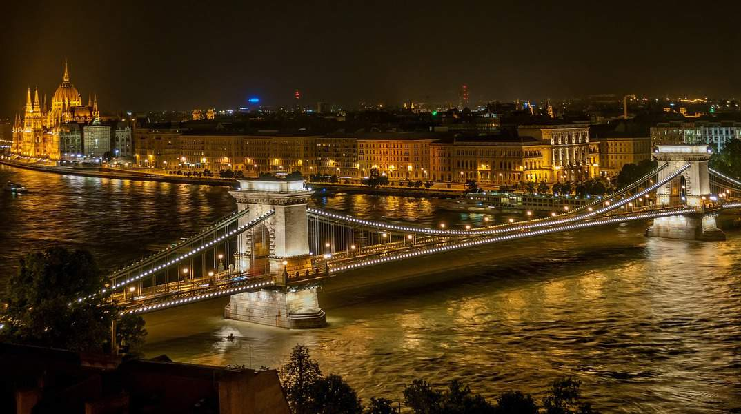 LAX > Budapest, Hungary: Biz from $1686 (Business Bargain). Econ from $505. – Mar-May