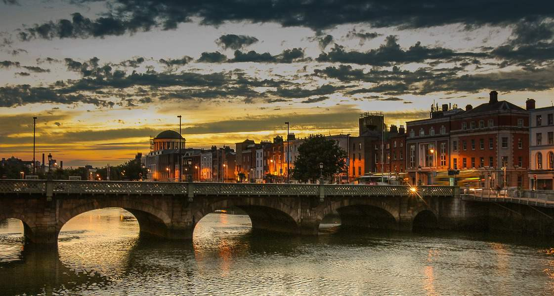 IND > Dublin, Ireland: From $448 round-trip  – Aug-Oct