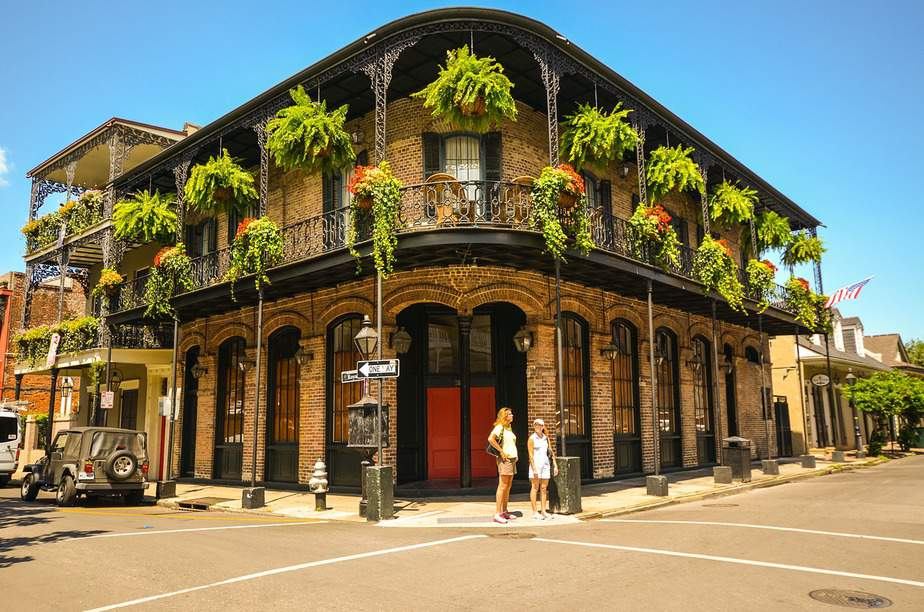 MSP > New Orleans, Louisiana: $65 round-trip – Oct-Dec