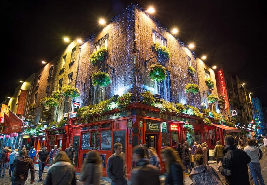 IND > Dublin, Ireland: Econ from $517. – Dec-Feb (Including MLK Weekend)