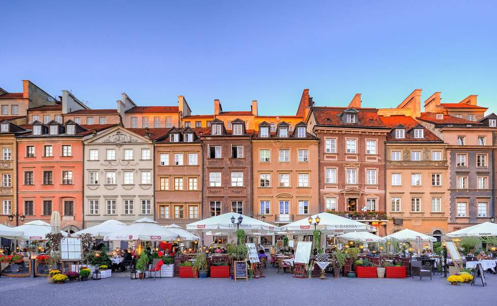 JFK > Warsaw, Poland: $386 round-trip – Oct-Dec