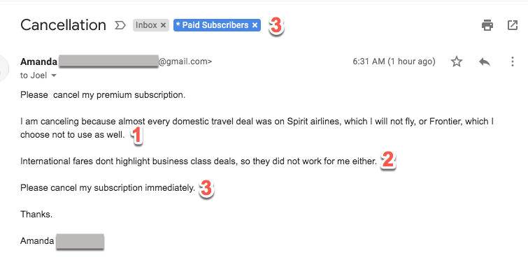 """I refuse to fly Spirit Airlines"""